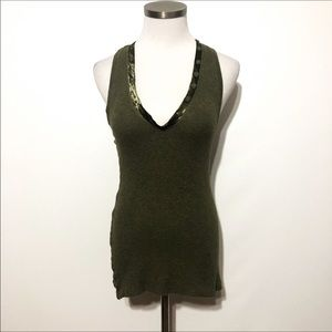 H by Bordeaux Olive Tank